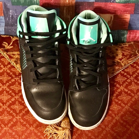 separation shoes 35214 ca1fe Nike Shoes | Air Jordan 1 Retro 89 Mint Green Glow Black | Poshmark